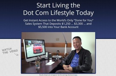 The Ultimate Dot Com Lifestyle by John Chow