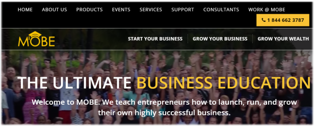 MOBE - The Best Business Education Program on the Internet
