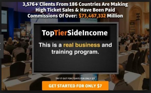 Top Tier Side Income - Commissions of 0ver $73,467,332 already paid out!